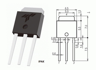 SPU04N60C2 | Field-effect Transistor | N-CH,0.95ohm | TO-251